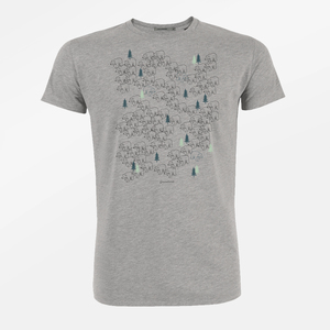 T-Shirt Guide Nature Bear Walk - GreenBomb
