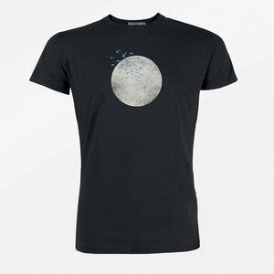 T-Shirt Guide Nature Birds Moon - GreenBomb