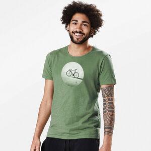 T-Shirt Adores Slub Bike Moon - GreenBomb