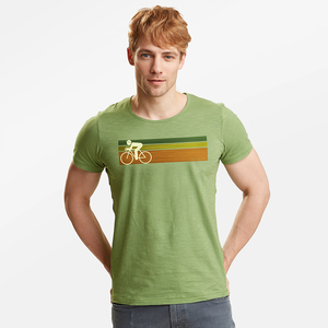T-Shirt Adores Slub Bike Speed - GreenBomb