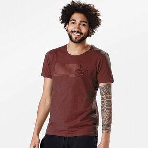 T-Shirt Adores Slub Bike Stripes - GreenBomb