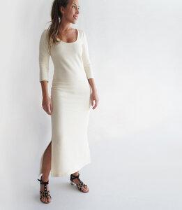 Langes Fleece-Kleid - Mel Scherer