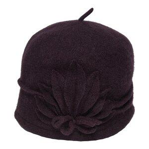 SILKROAD Retro Mütze Filzhut Damen MARIANNE - Hut aus 100%  Wolle - Silkroad - Diggers Garden