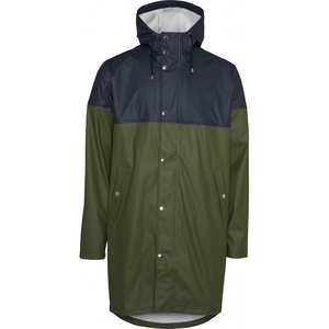 Long Rain Jacket Vegan - KnowledgeCotton Apparel