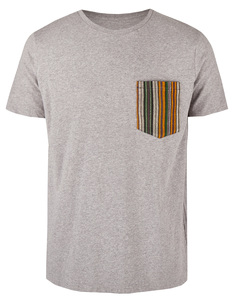 Basic Bio Taschen T-Shirt (men) Fine Line - Brandless
