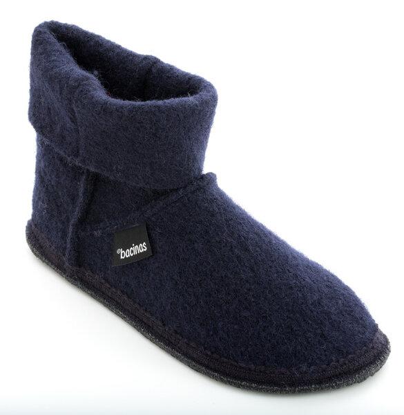 Bacinas Hausschuhe Ankle Boots für Damen aus 100% Wolle