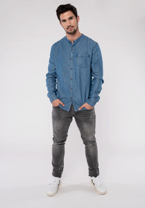 Hemd - Tencel - Dark Denim - Erdbär