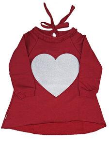 Bio-Baumwoll-Sweater Julia mit Herz - CORA happywear