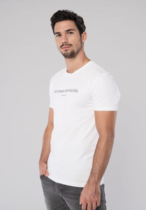 T-Shirt - Print - Cotton/Modal - White - Erdbär