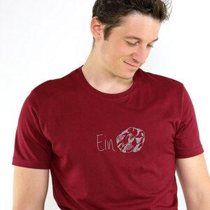 Shirt Einstein aus Modal®-Mix Burgund - Gary Mash
