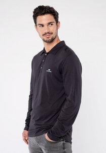 Polo Shirt - Cotton/Modal - Anthrazit  - Erdbär