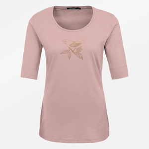 T-Shirt Deep Animal Gold Berry Bird - GreenBomb