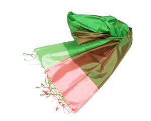 SABINE Edler Schal aus handgewebter Seide - Schönes aus Indochina