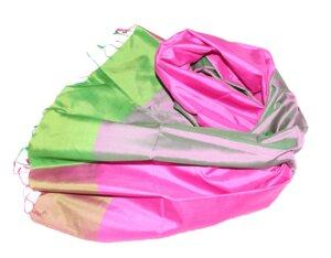 HIBISKUS Schal aus handgewebter Seide - Schönes aus Indochina