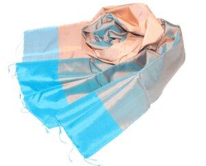 LINDA Schal aus handgewebter Seide - Schönes aus Indochina