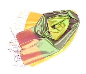 MAJA Edler Schal aus handgewebter Seide - Schönes aus Indochina