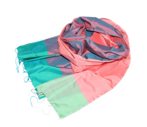 WATERMELON Schal aus handgewebter Seide - Schönes aus Indochina
