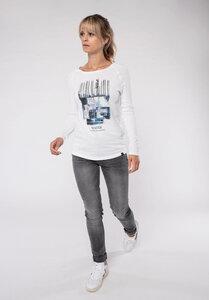 Longsleeve - Print - Cotton - White - Water - Erdbär