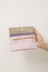 Corkskin Wallet / Mini Clutch Clap - ein garten Studios