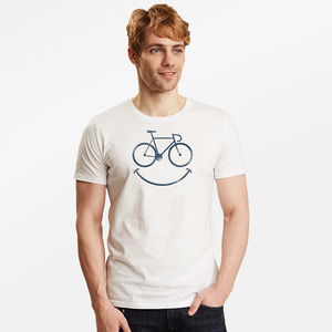 T-Shirt Guide Bike Smile - GreenBomb