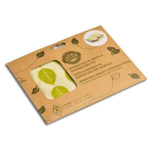 Pflanzenwachstuch Sandwich- und Snackbeutel, vegan - Gary Mash