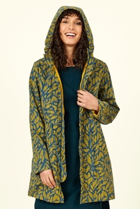 Organic Cotton Raincoat - Biscay - Nomads Fair Trade Fashion