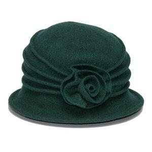 SILKROAD Retro Mütze Filzhut Damen WILMA - Hut aus 100%  Wolle - Silkroad - Diggers Garden