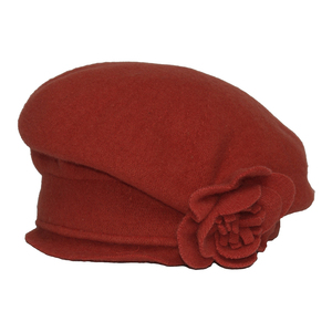 SILKROAD Retro Mütze Filzhut Damen JOHANNA - Hut aus 100%  Wolle - Silkroad - Diggers Garden
