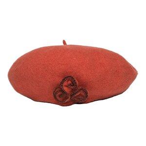 SILKROAD Barett Baskenmütze Damen Mütze aus 100% Wolle - Silkroad - Diggers Garden