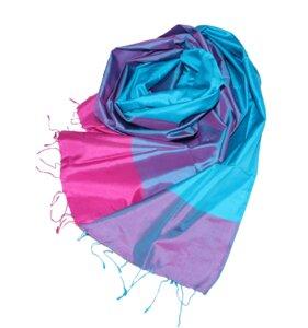 AVA Edler Schal aus handgewebter Seide - Schönes aus Indochina