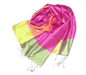 CHARLOTTA Schal aus handgewebter Seide - Schönes aus Indochina