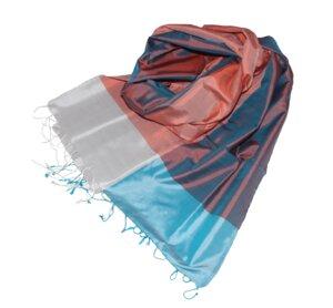 JANA Edler Schal aus handgewebter Seide - Schönes aus Indochina