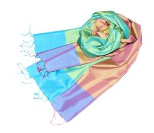 LOTTA Schal aus handgewebter Seide - Schönes aus Indochina
