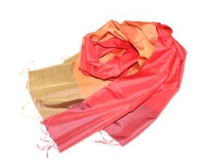 MELISSA Edler Schal aus handgewebter Seide - Schönes aus Indochina
