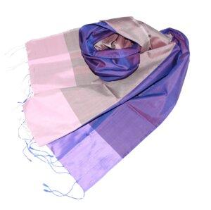 NELE Edler Schal aus handgewebter Seide - Schönes aus Indochina