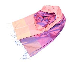 VALENTINA Schal aus handgewebter Seide - Schönes aus Indochina