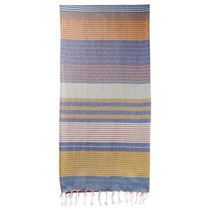 Fouta Hamamtuch aus reiner Bio-Baumwolle 200 × 100 cm (Stil SUD) - Karawan authentic