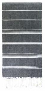 Fouta Hamamtuch aus reiner Bio-Baumwolle 200 × 100 cm (Stil HAMMAM) - Karawan authentic