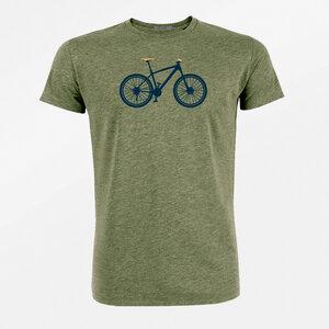 T-Shirt Guide Bike Mountain Bike - GreenBomb