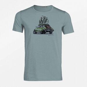 T-Shirt Adores Slub Bike Good Trip - GreenBomb
