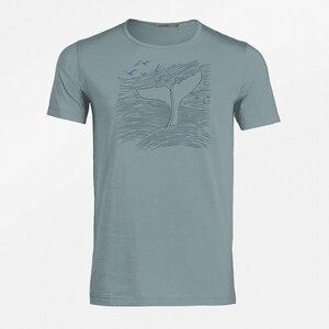 T-Shirt Adores Slub Nature Whale - GreenBomb