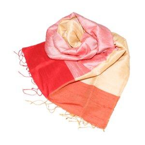 SABIA Edler Schal aus handgewebter Seide - Schönes aus Indochina