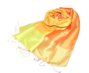 SUNNY Edler Schal aus handgewebter Seide - Schönes aus Indochina