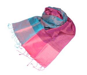 DANA Edler Schal aus handgewebter Seide - Schönes aus Indochina