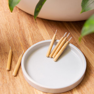 Interdentalbürste aus Bambus: nachhaltig, BPA-frei, Zahnzwischenraum - HYDROPHIL