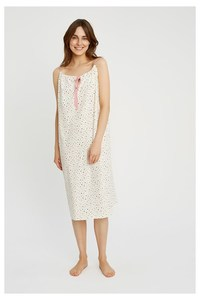 Heart Print Nightdress - People Tree