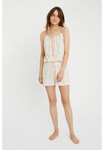 Heart Print Pyjama Shorts - People Tree