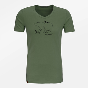 T-Shirt Peak Nature Emigrants - GreenBomb