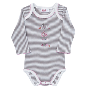 People Wear Organic Baby Body Langarm - People Wear Organic