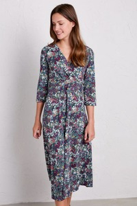 Kleid mit Blümchen - Chacewater Dress - Painterly Planting Squall - Seasalt Cornwall